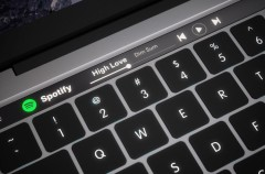 Apple planea un teclado de tinta electrónica con caracteres adaptativos para los MacBook de 2018