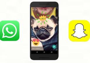 WhatsApp actualiza su aplicación para iPhone dándole un nuevo toque Snapchat