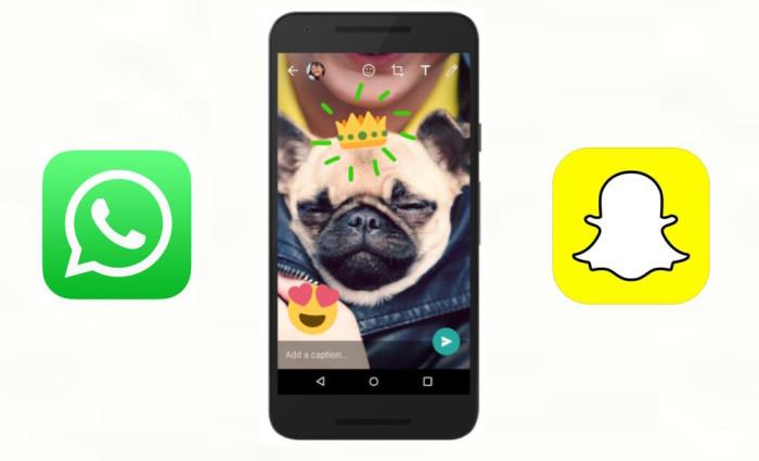 WhatsAppSnapchat