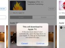 Ya es posible comprar aplicaciones para el Apple TV desde un iPhone, un iPad o un Mac