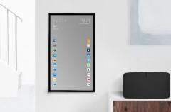 Vanidosos del mundo: llega el espejo inteligente con apps de iOS