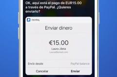 Enviar dinero con PayPal nunca fue tan fácil, simplemente pídeselo a Siri