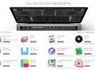 Apple promociona en la Mac App Store las aplicaciones que soportan la Touch Bar del nuevo Macbook Pro