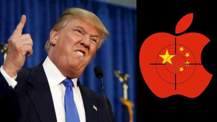 Trump Apple China