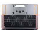 iFixit desmonta el MacBook Pro de 13 pulgadas y descubre que las rejillas de los altavoces son de pega