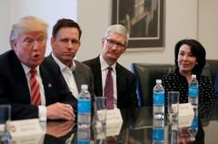 Así ha sido la reunión de Tim Cook con el Presidente Donald Trump