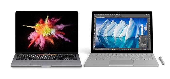 MacBook Pro vs Surface