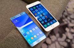 Samsung aguanta el tirón frente al iPhone 7