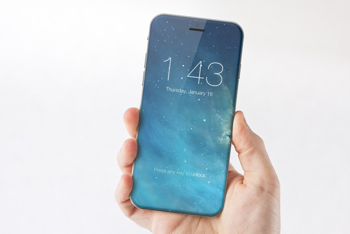 iPhone ocho OLED