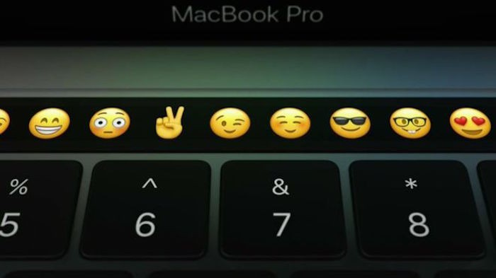 MacBook Pro Touch Bar iconos