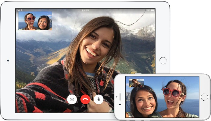 FaceTime iOS