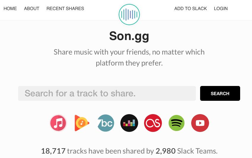 Comparte tu música sin importar la plataforma gracias a Son.gg