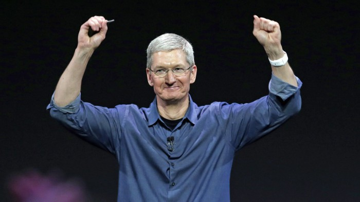 Tim cook degree