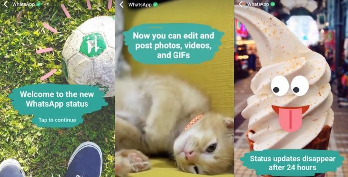 WhatsApp ya permite también desde hoy compartir Stories como en Snapchat