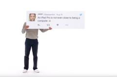 Las quejas publicadas en Twitter por usuarios de PC son las protagonistas de la nueva campaña del iPad Pro