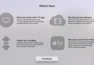 tvOS 10.2 traerá interesantes novedades, entre ellas la app Apple TV Remote para iPad