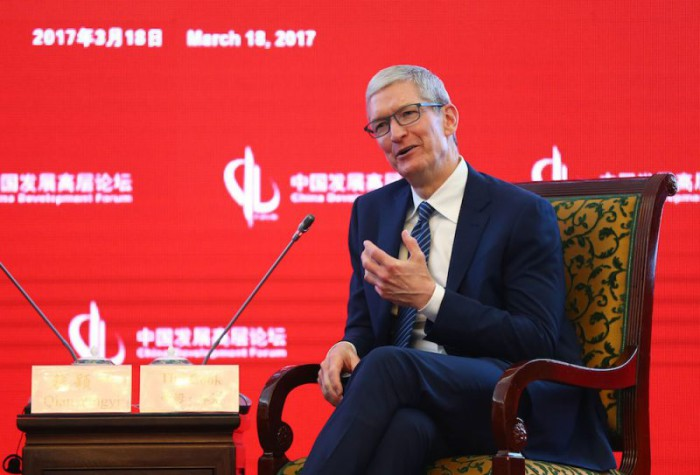 Tim Cook discurso China