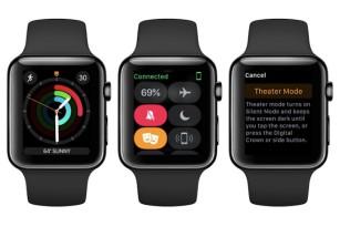 watchOS 3.2 ya disponible para el Apple Watch con el nuevo Modo Cine