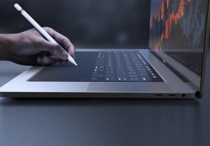 La Touch Bar se come al teclado ¿Podría este concepto hacerse realidad algún día?