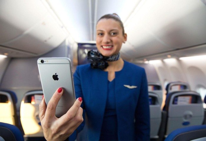 iPhone avión