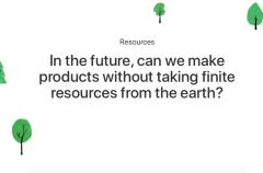 Apple busca el fin de la minería prometiendo un 100% de materiales reciclados en sus productos