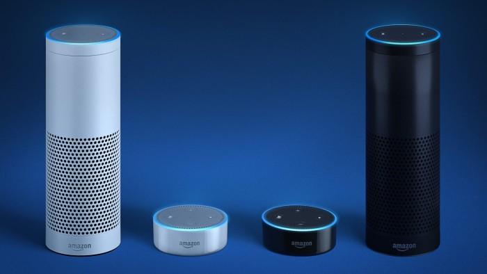 Amazon Echo colores