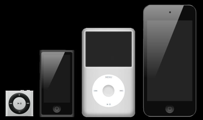 gama iPod