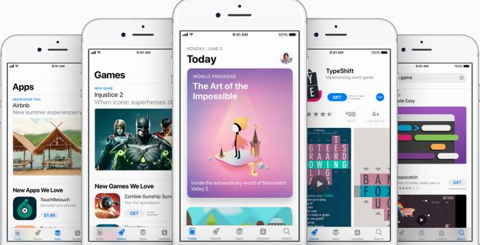 App Store iOS™ 11