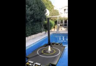 Un Falcon 9 de SpaceX aterrizará en tu piscina gracias a ARKit