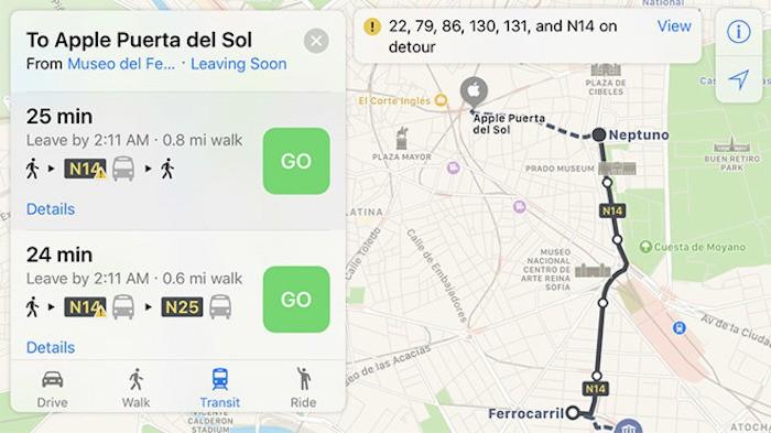 Mapas trafico Madrid