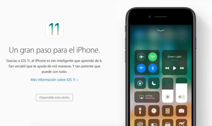 iOS once novedades