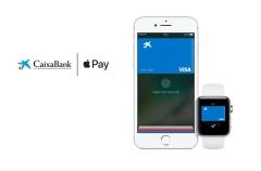 CaixaBank será compatible con Apple Pay antes de que acabe el año