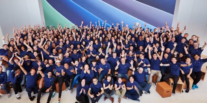 Empleados Apple Store nuevos