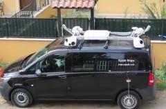 Los coches de Apple Maps están por vez primera en España ¡quizás te cruces con uno este verano!
