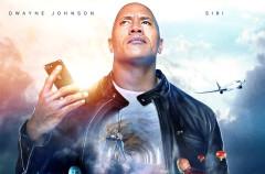 """Siri y Dwayne Johnson """"La Roca"""" son los protagonistas del último estreno cinematográfico"""