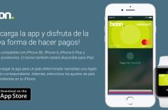 boon. es la primera tarjeta virtual disponible en España que te permite pagar con Apple Pay