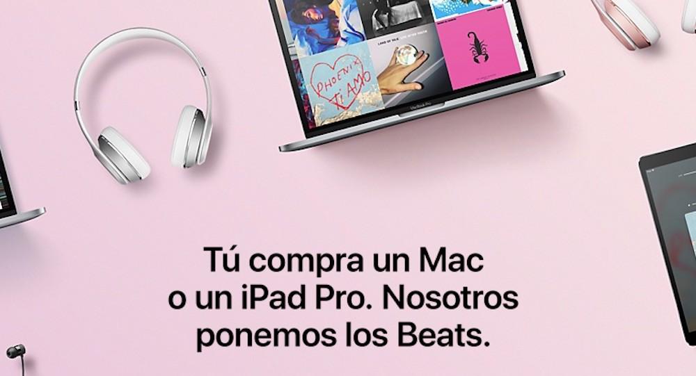 """Llévate unos Beats al comprar un Mac o un iPad Pro con """"la vuelta al cole"""" de Apple"""