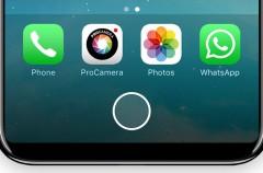 El iPhone 8 tendrá un botón Home que cambiará de tamaño cuando sea necesario