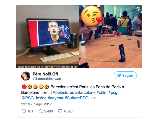 Neymar Apple Store_2
