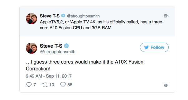 Apple TV 4K twitter