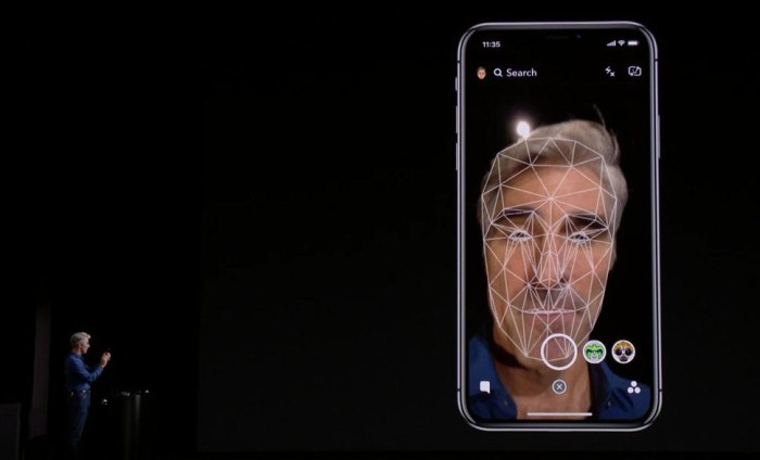 Face ID scanner