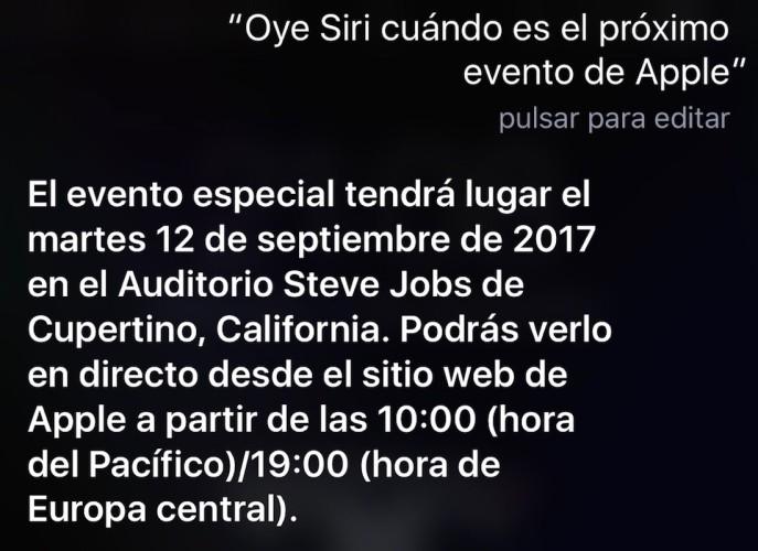 SiriAppleEvent