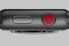 ¿No te gusta el punto rojo en la Corona Digital del Apple Watch Series 3 con LTE? Aquí tienes la solución