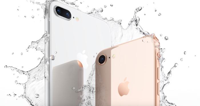 iPhone 8 splash