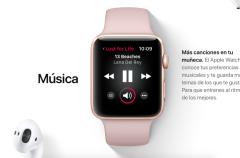 El Apple Watch se independiza más del iPhone con watchOS 4