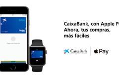 Los clientes de CaixaBank e ImaginBank en España ya pueden usar sus tarjetas con Apple Pay