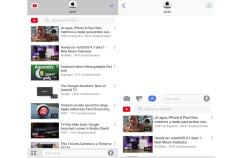 YouTube se actualiza para que puedas buscar y compartir vídeos sin salir de iMessage