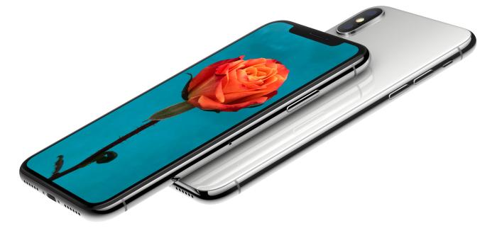 iPhone X rosa