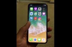 Aparece otro vídeo del iPhone X color plata en manos de un afortunado