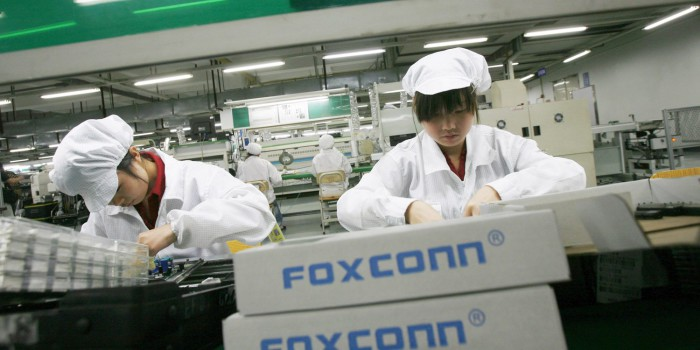 foxconn operarios